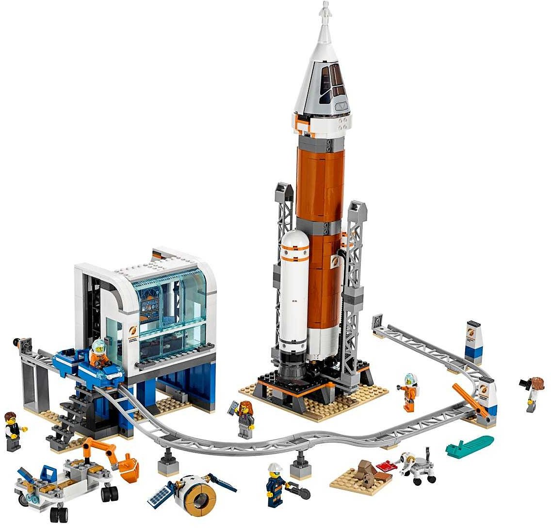 Deep Space Rocket and Launch Control 60228 | City | Buy Online At The Official LEGO® Shop US