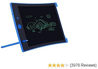LCD Writing Tablet,8.5-inch Electronic Drawing Board and Doodle Board The Toys Gifts for Kids At Home and School (Blue)