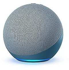 All-new Echo (4th Gen)   With Premium Sound, Smart Home Hub, and Alexa   Twilight Blue