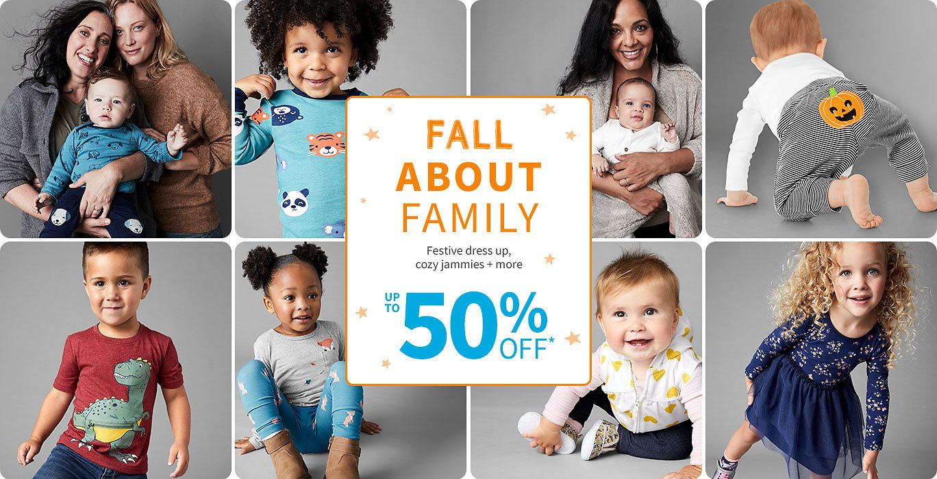Fall About Family Up to 50% Off   Carter's   Free Shipping