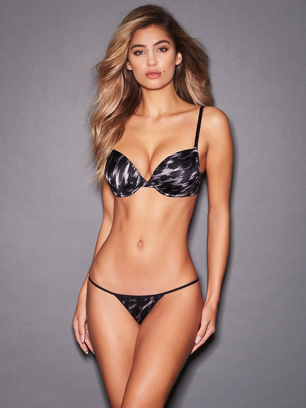 Hollywood Exxtreme Printed Push Up Bra FINAL CLEARANCE