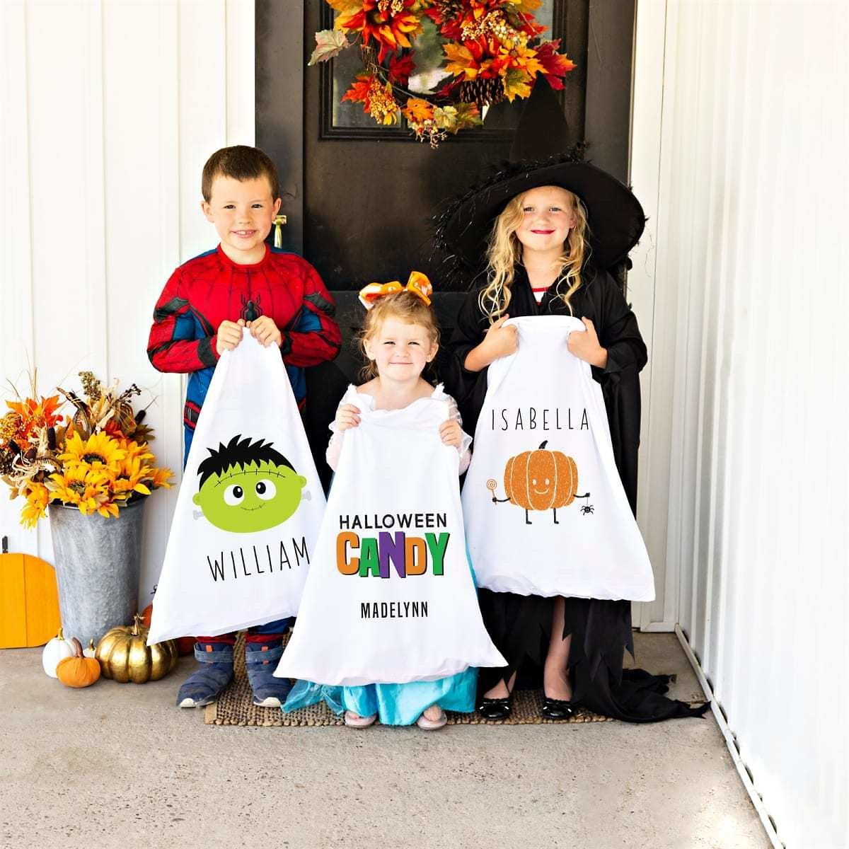 Halloween Pillowcase Trick-or-Treat Bags