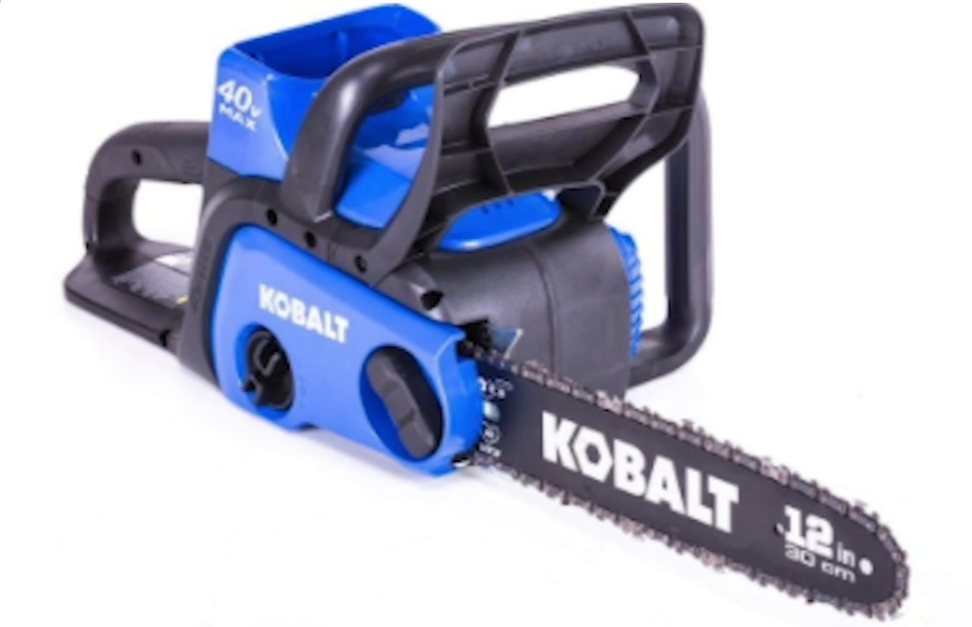 Lowe's Recalling This Cordless Electric Chainsaw Due to Laceration Hazard