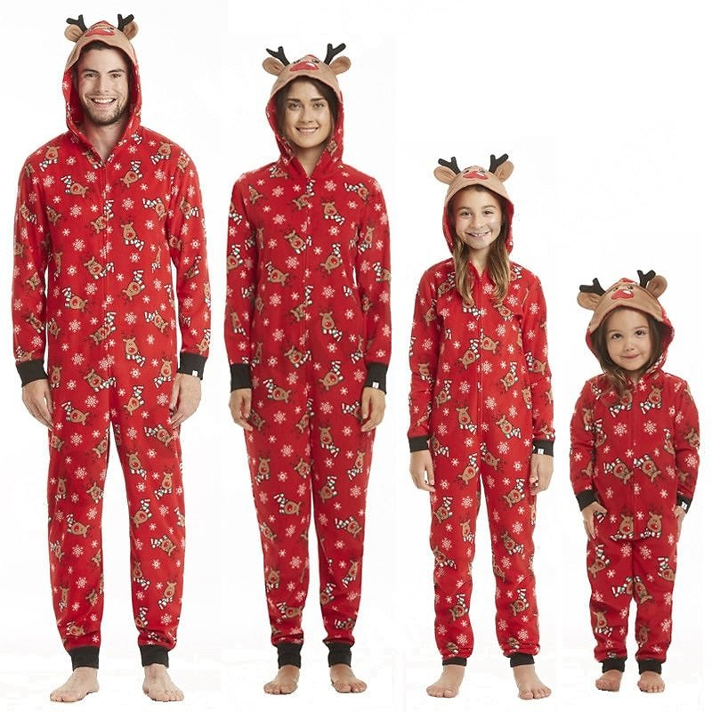 US $3.82 42% OFF|New Year's Family Matching Christmas Pajamas Sets Mom and Dad Baby Kid Clothes Print Family Outfits Sleepwear Nightwear 4 Styles|Matching Family Outfits| - AliExpress