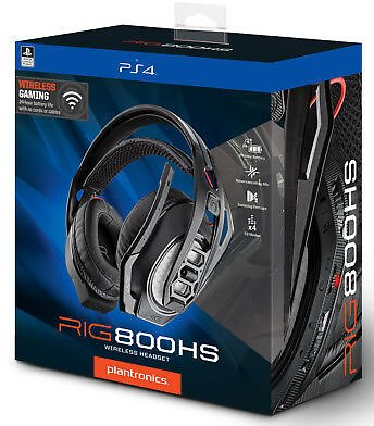 Plantronics Headset Rig 800hs Wireless Gaming Headset Ps4 Playstation 4