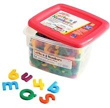 AlphaMagnets® and MathMagnets Multicolored Combo Set