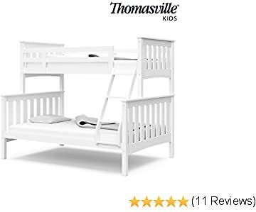 Thomasville Kids Winslow Twin Over Full Bunk Bed, White