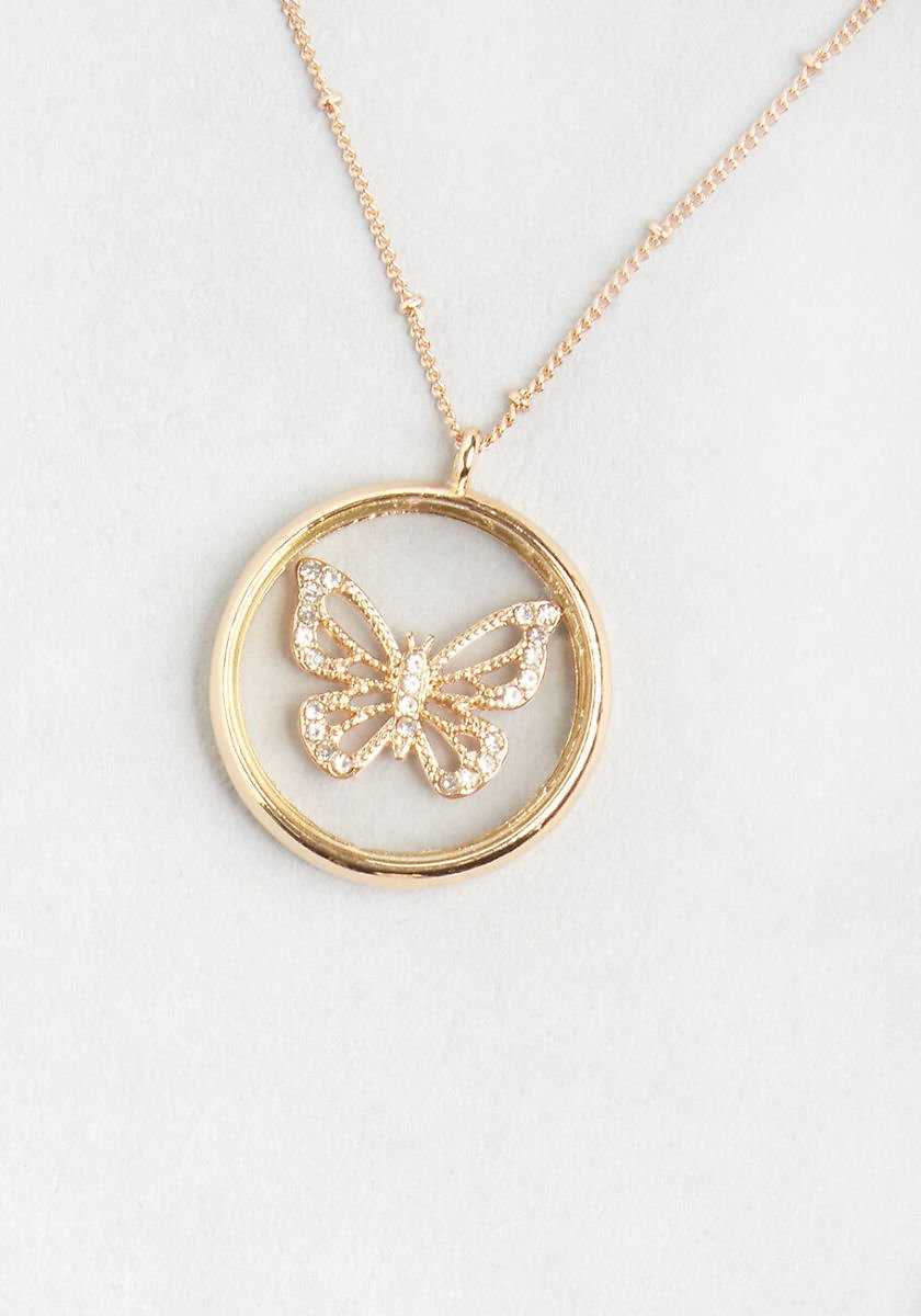 Pretty Wings Pendant Necklace