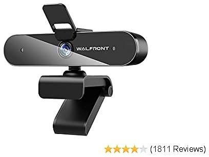 1080P Webcam for PC Laptop Desktop, 360-Degree Rotation Streaming Webcam with Microphone