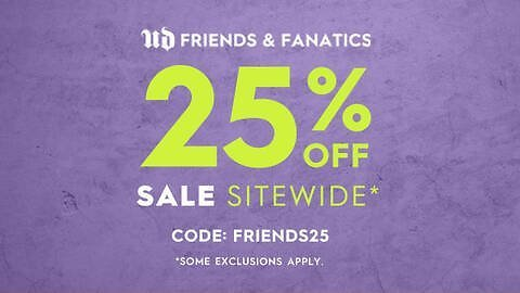 Friends and Fanatics Sale: 25% Off Sitewide