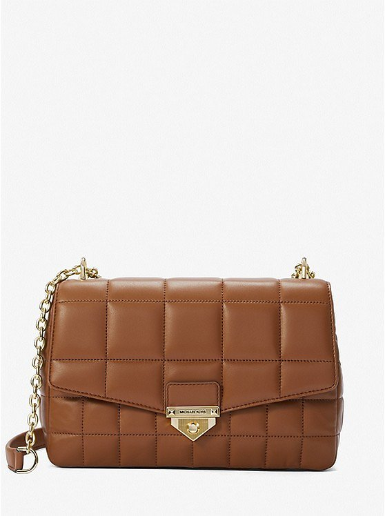 Soho Extra-Large Quilted Leather Shoulder Bag