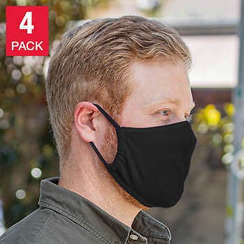 Sunday Afternoons UVShield Cool Face Cover, 4-pack