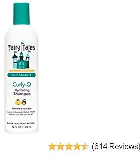 Fairy Tales Curly-Q Daily Hydrating Shampoo for Kids - Shampoo For Curly Hair - Paraben Free, Sulfate Free, Gluten Free, Nut Free - 12 Oz