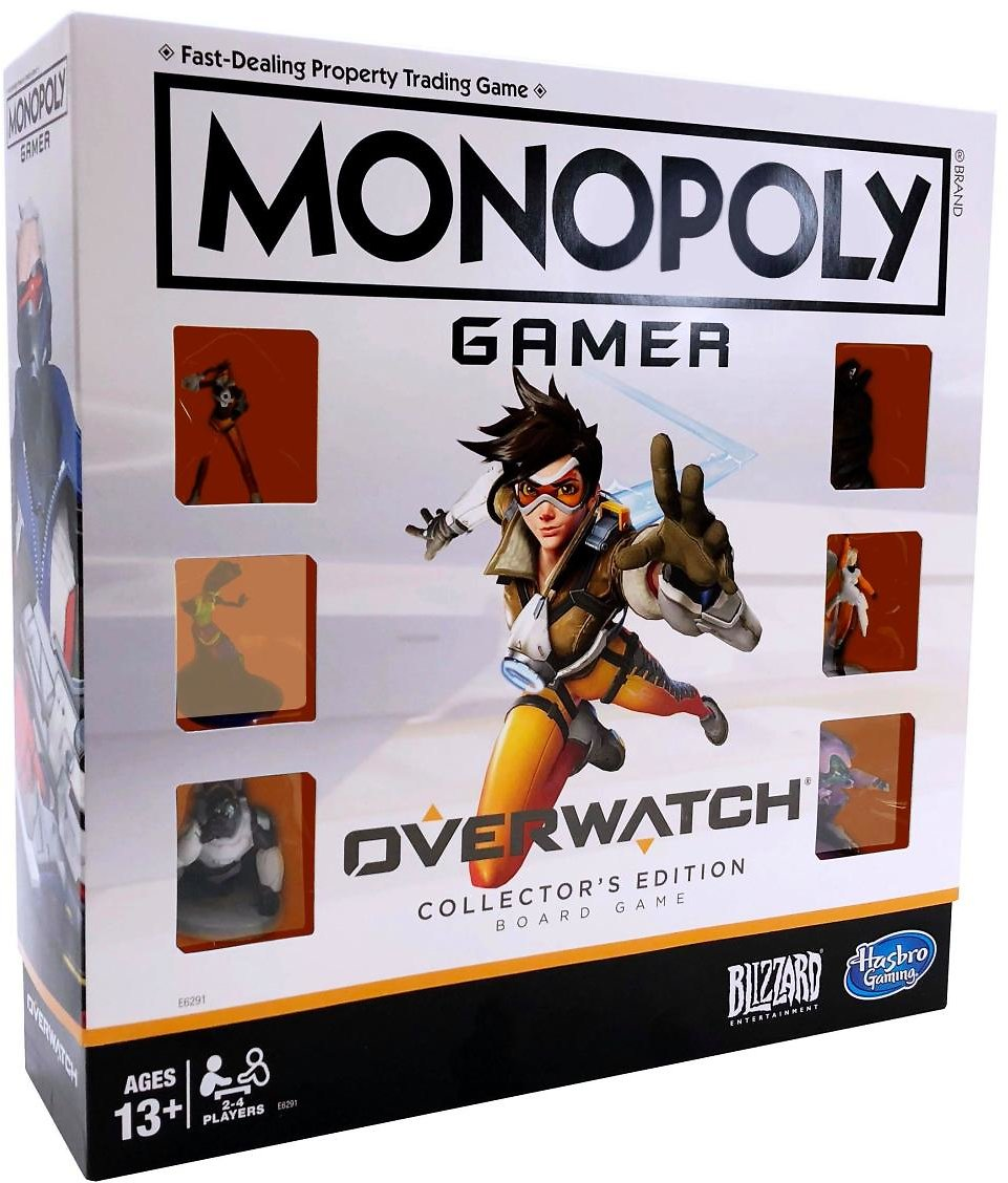 Monopoly Gamer: Overwatch Collector's Edition Board Game | GameStop