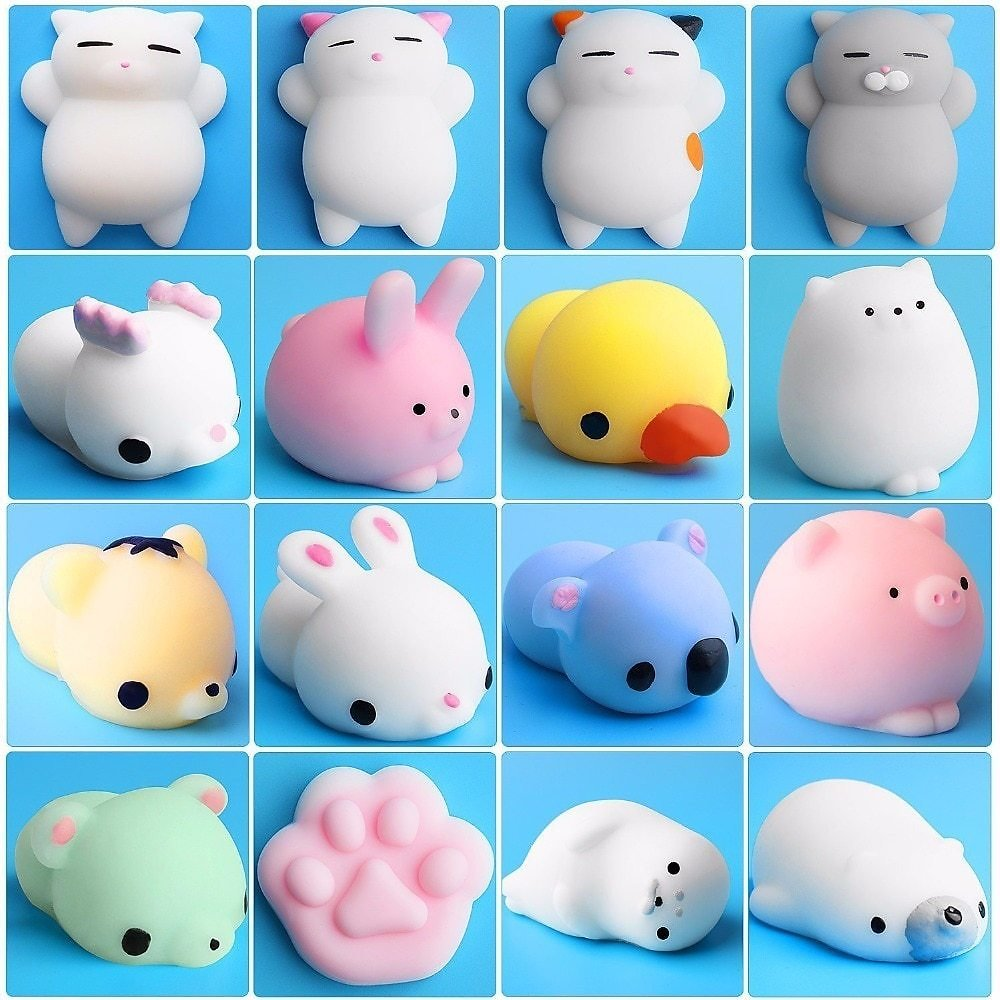 US $1.84 5% OFF|Squishy Toy Cute Animal Antistress Ball Squeeze Mochi Rising Toys Abreact Soft Sticky Squishi Stress Relief Toys Funny Gift|funny Gift|ball Squeezestress Relief - AliExpress