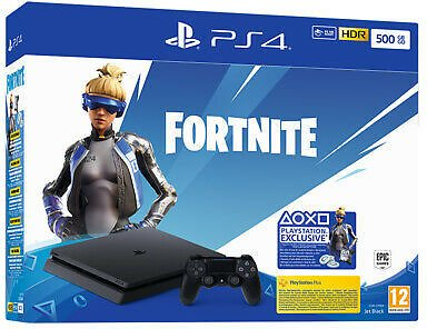 Playstation 4 Ps4 500gb F Console + Fortnite Voucher 9940708