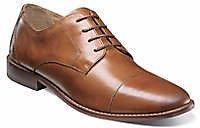 Florsheim Montinaro Cap Toe Oxford Saddle Tan