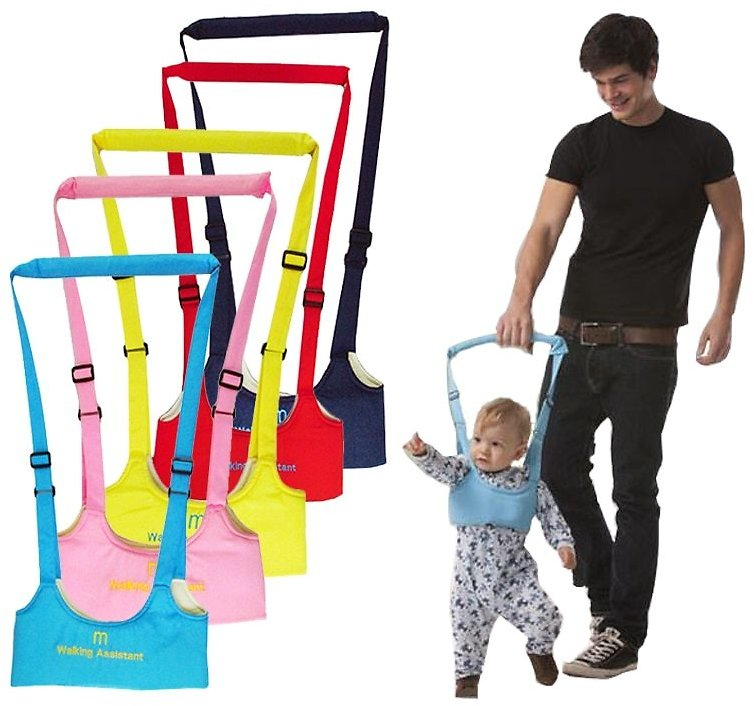 US $4.32 30% OFF safe Keeper Baby Harness Sling Boy Girsls Learning Walking Harness Care Infant Aid Walking Assistant Belt Harnesses & Leashes  - AliExpress