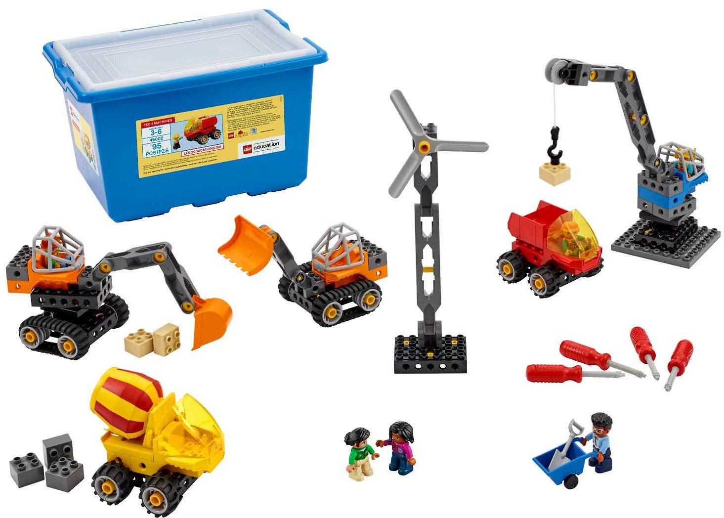 Tech Machines 45002 | LEGO® Education | Buy Online At The Official LEGO® Shop US