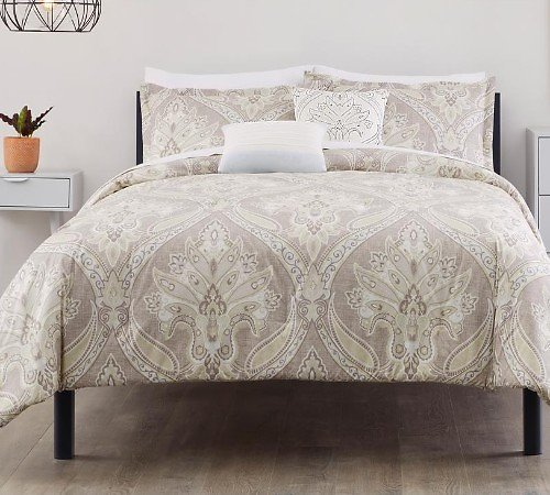 75% Off StyleWell Adderly 5-Piece Riverbed Medallion Comforter Set