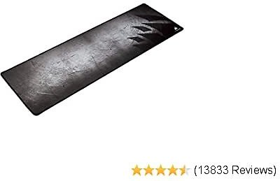 Corsair MM300 - Anti-Fray Cloth Gaming Mouse Pad - High-Performance Mouse Pad Optimized for Gaming Sensors - Designed for Maximum Control - Extended (CH-9000108-WW),Multi Color