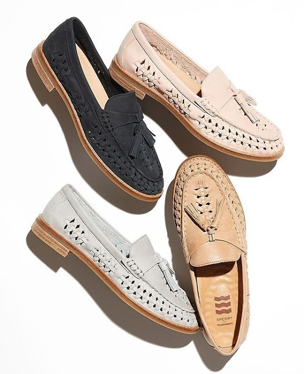 Free Pair of Socks w/ Purchase Womens Loafer