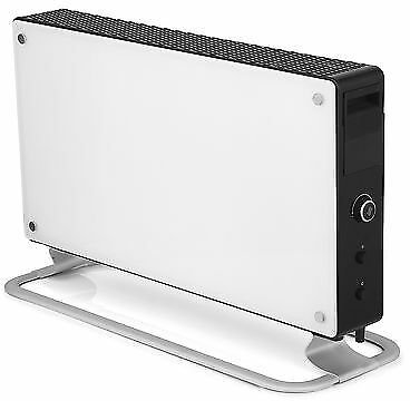 Luxury 1500W Glass Convection Portable Space Heater Wire Electric Office Room 7090019822086