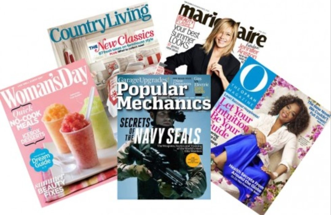 Free $5.00 Credit for You for Being a Magazines Customer