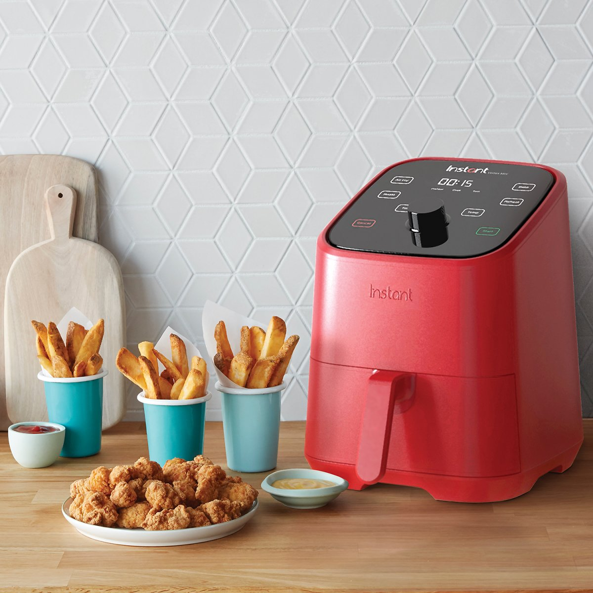 Instant Brands Vortex Mini 2-Quart 4-In-1 Air Fryer (4 Colors)