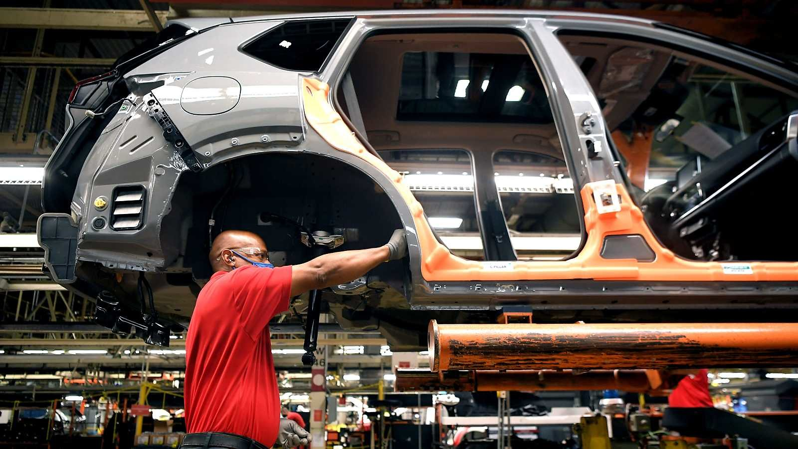 Nissan Launches Production of 2021 Rogue At Tennessee Assembly Plant