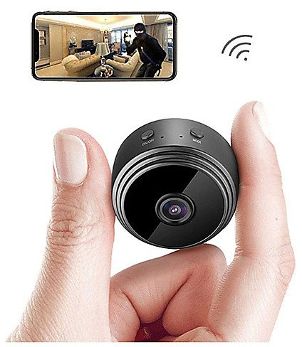 A9 IP Camera Full HD 1080P WiFi Security Camera Night Vision Wireless 80 Degrees Wide Angle Outdoor Mini Camera Home Security Su