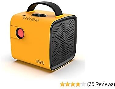 Airthereal PA50-GO Portable Ozone Generator - Cordless Battery Powered Odor Eliminator for Cars, Travelling, Shoe Cabinet, and Other Small Spaces (Yellow)