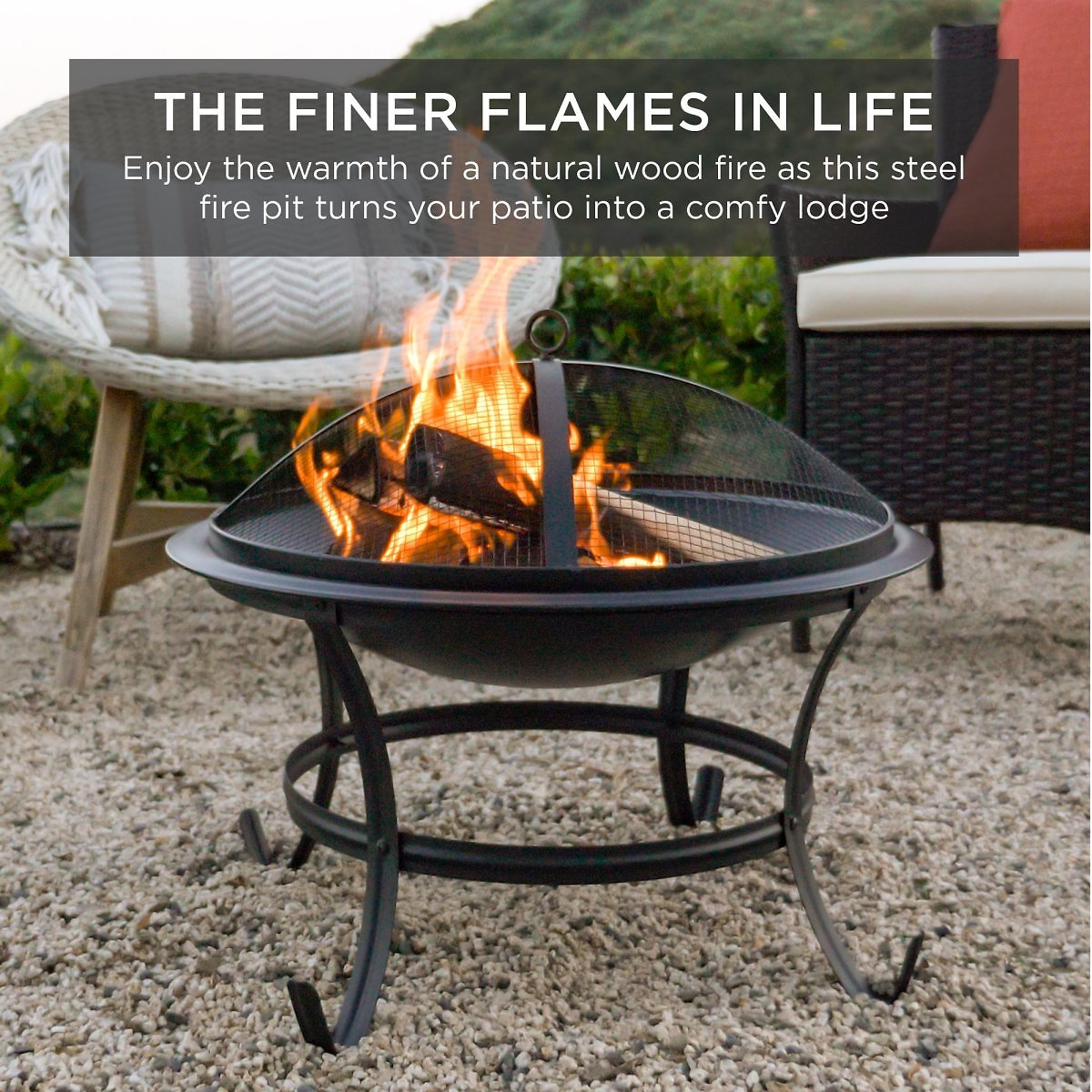 Best-Choice-Products-22in-Steel-Outdoor-Fire-Pit-Bowl-BBQ-Grill-w-Screen-Cover-Log-Grate-Poker-for-Ca