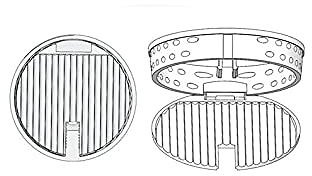 2020 Version Plastic Gaxeful Sink Strainer With Post Stopper Drainer Best For Kitchen Bathroom