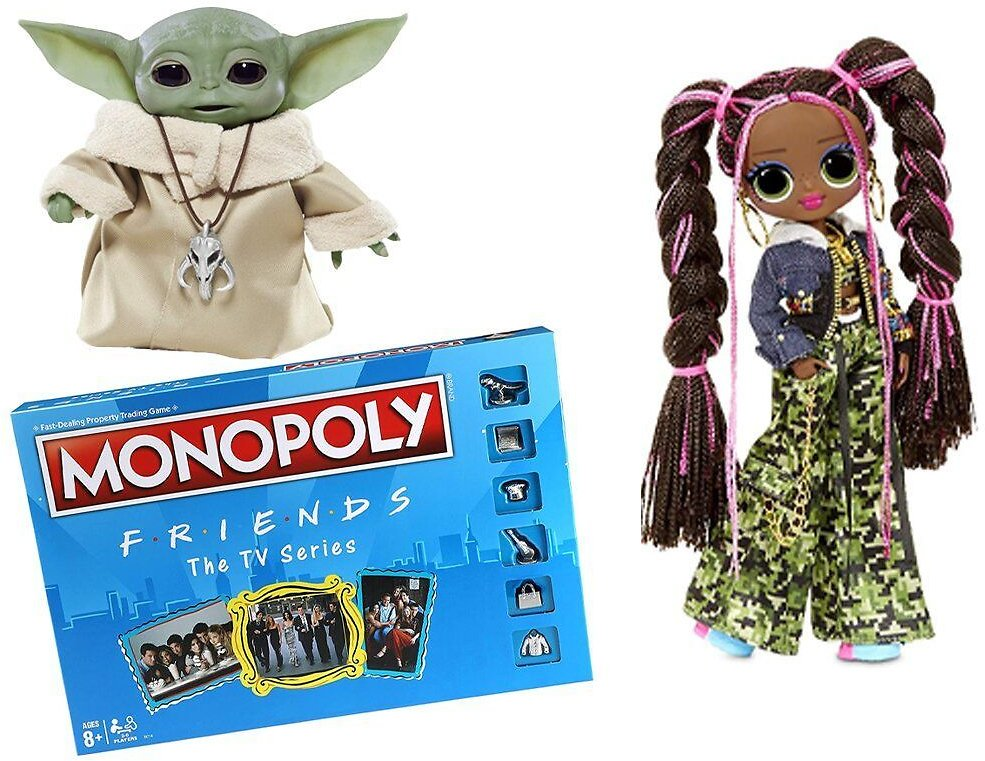 Amazon's Official Top 100+ Toys List Is Here — Including Friends Monopoly and Talking Baby Yoda Dolls