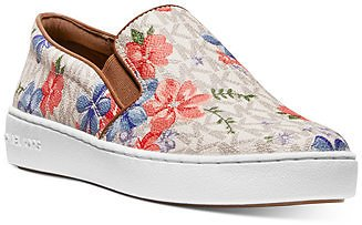 Michael Kors Keaton Signature Slip-On Sneakers & Reviews - Slippers - Shoes