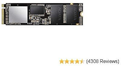 XPG SX8200 Pro 512GB 3D NAND NVMe Gen3x4 PCIe M.2 2280 Solid State Drive R/W up to 3350/2350MB/s SSD (ASX8200PNP-512GT-C)