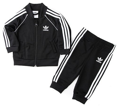 Adidas Superstar Track Suit - Baby - Black
