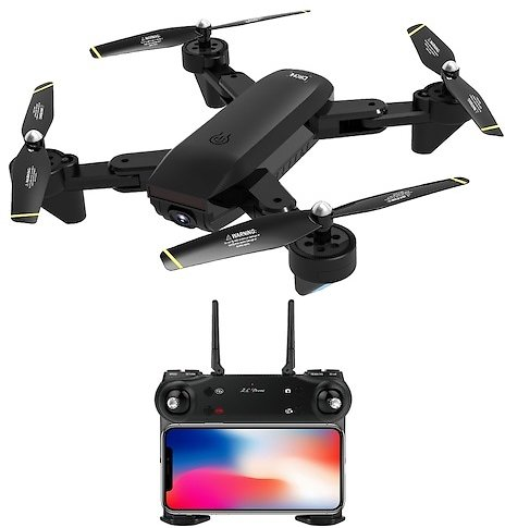 SG700-D Foldable WiFi FPV RC Helicopter Quadcopter Drone with 4K 1080P HD Camera
