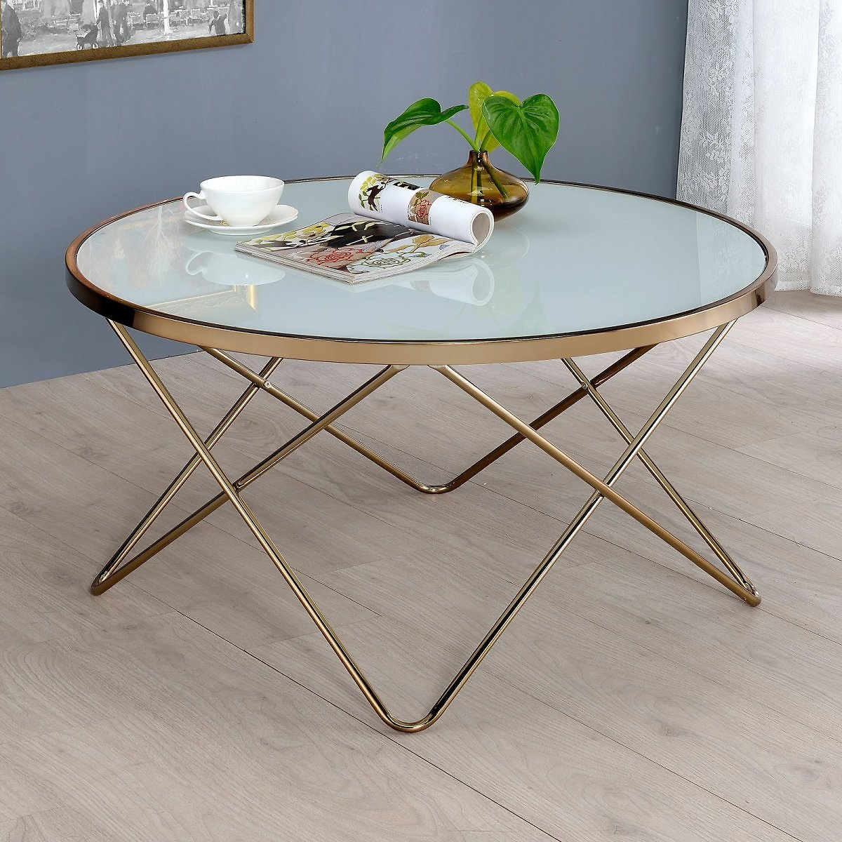 ACME Valora Coffee Table, Multiple Colors