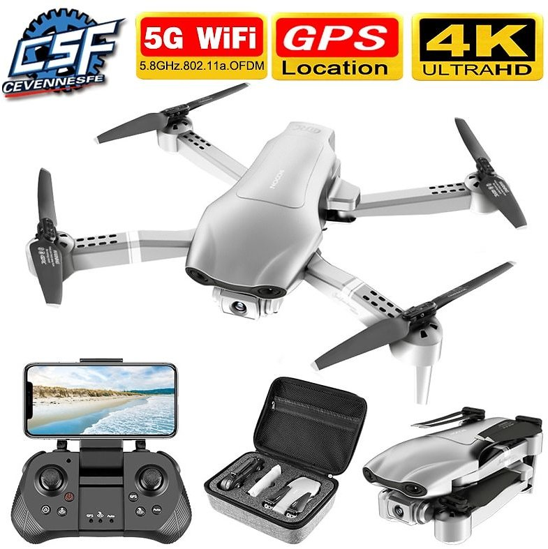 US $47.55 65% OFF|2020 NEW F3 Drone GPS 4K 5G WiFi Live Video FPV Quadrotor Flight 25 Minutes Rc Distance 500m Drone HD Wide Angle Dual Camera|RC Helicopters| - AliExpress