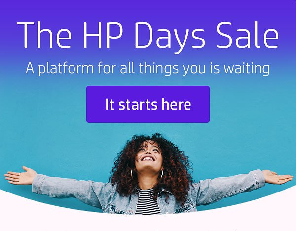 Up To $300 Off HP Days Sale