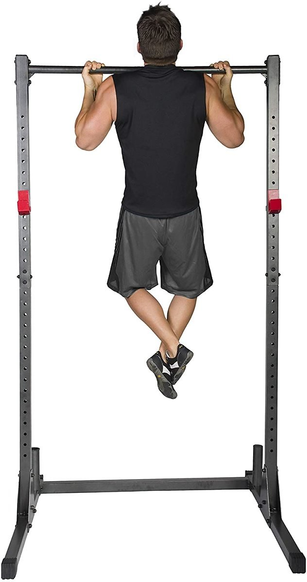 CAP Barbell Power Rack Exercise Stand, Carbon