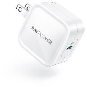 USB C Wall Charger, RAVPower 30W PD 3.0 GaN Tech Type C Fast Charging Power Delivery Foldable Adapter, Compatible with IPhone 11 Pro Max XR XS X SE 2, MacBook Air IPad Pro, Galaxy, Nintendo and More - Newegg.com