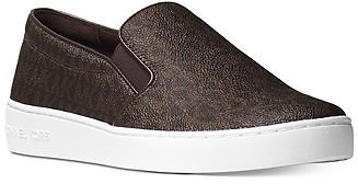 Michael Kors Keaton Slip-On Signature Logo Sneakers & Reviews - Athletic Shoes & Sneakers - Shoes
