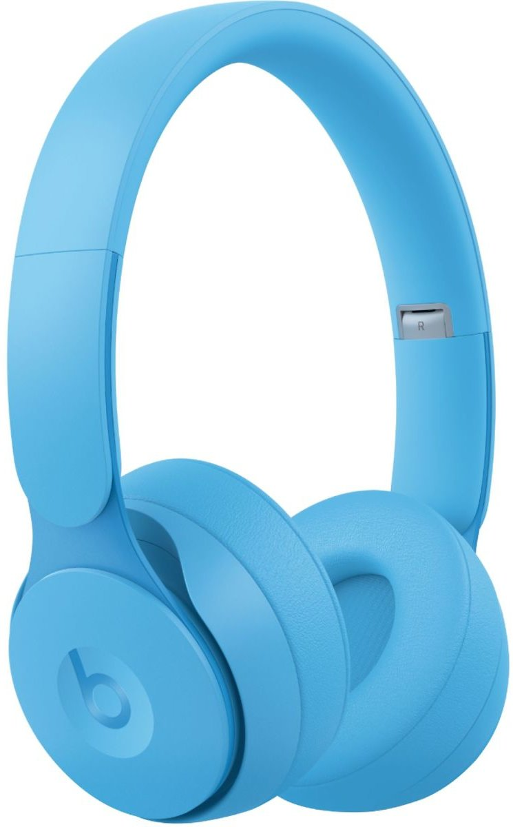 Beats By Dr. Dre Solo Pro More Matte Collection Wireless Noise Cancelling On-Ear Headphones Light Blue MRJ92LL/A