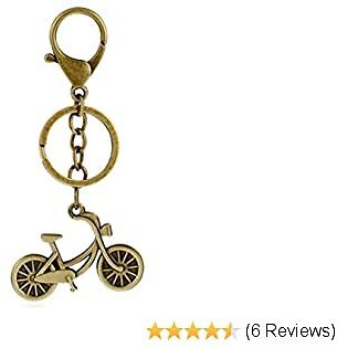 Bronze Keychain Camera Bicycle Keychain Alarm Lovers Keychain Birthday Gifts Holiday Gifts Student Small Prizes