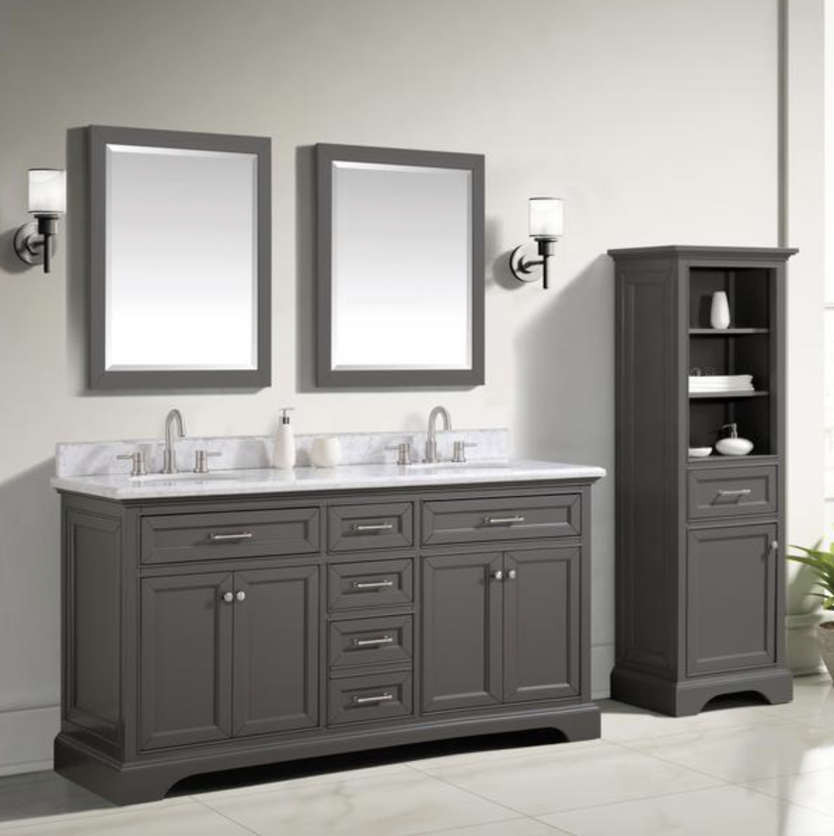 Up to 50% Off Vanities, Mirrors & More
