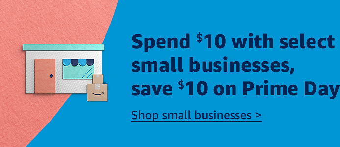 $10 Amazon Credit When You Spend $10+ On Select Small Business Products