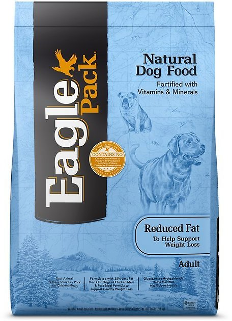 Eagle Pack Reduced Fat Adult Dry Dog Food, 30-lb Bag - Chewy.com